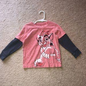 Disney 4t long sleeve lion king shirt